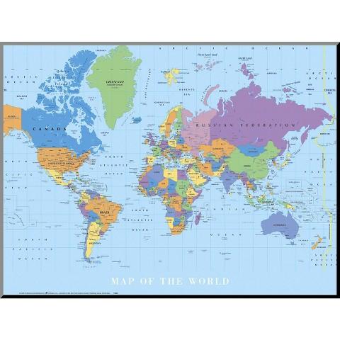 Art.com - Map Of The World
