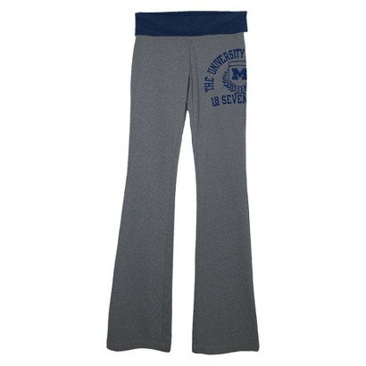 NCAA Juniors Yoga Pants Michigan