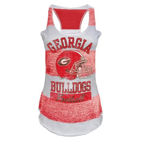 Georgia Bulldogs Juniors Tank White