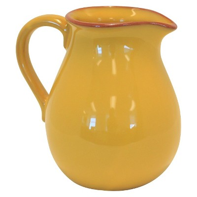 Baum Bros. Costa Del Sol Terra Cotta Pitcher - Yellow (Large)