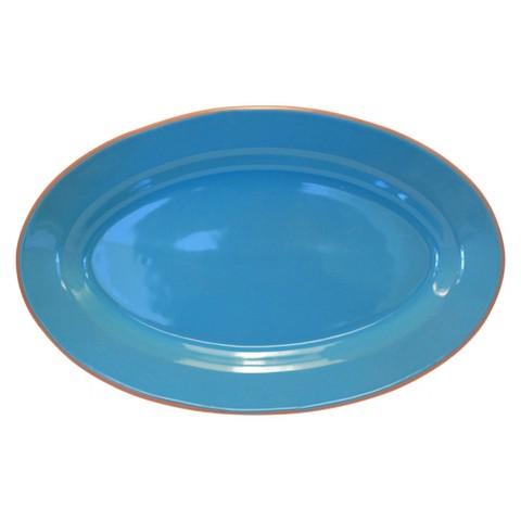 Baum Bros. Costa Del Sol Oval Platter
