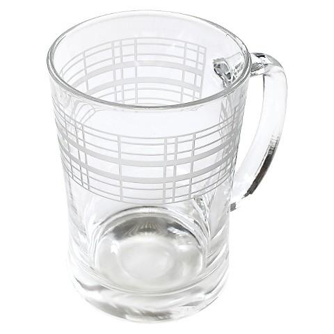 Threshold™ Etched Glass Beer Mug Set of 4