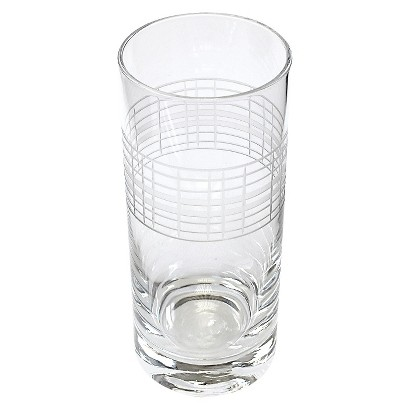 Threshold™ Etched Glass Highball Set of 4