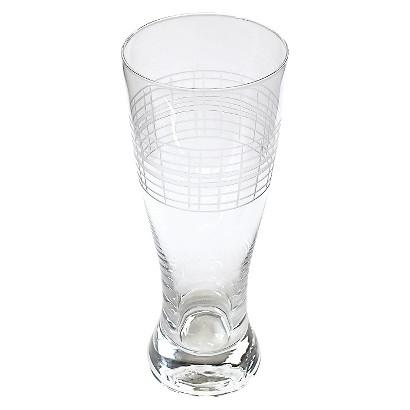 Threshold™ Etched Glass Pilsner Set of 4