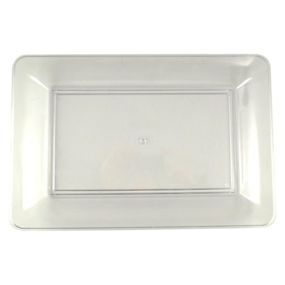 Spritz Red Rectangle Tray