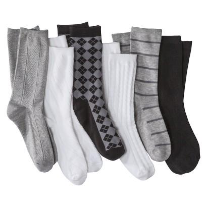 Women's Crew Socks 6-Pack