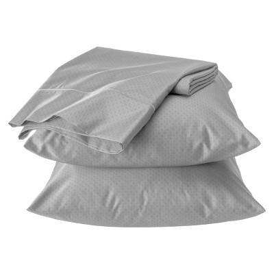 Fieldcrest® Luxury Egyptian Cotton 500 Thread Count Geometric Sheet Set - Skyline Gray (California King)
