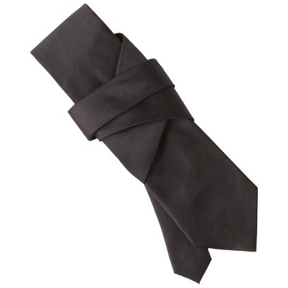 Merona® Men's Solid Satin Tie - Black