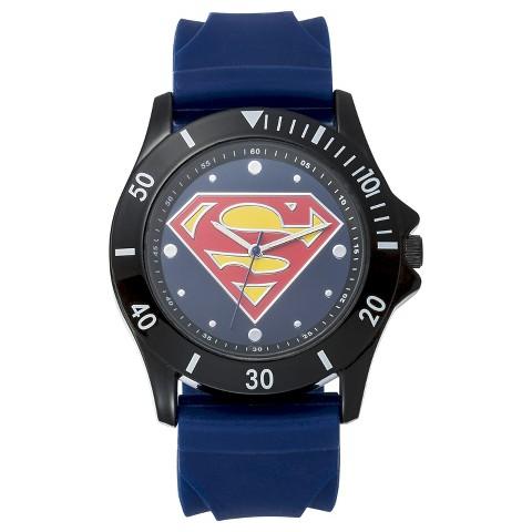 Superman Analog Wristwatch - Blue