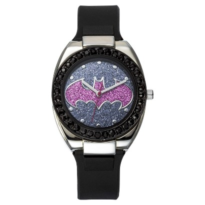 Batgirl Analog Wristwatch - Purple