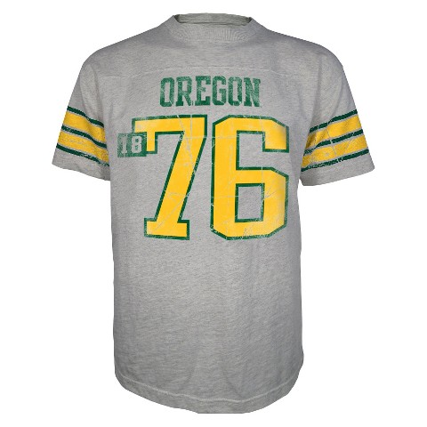 Men's Oregon Ducks Sandstone Crew-Neck T-Shirt
