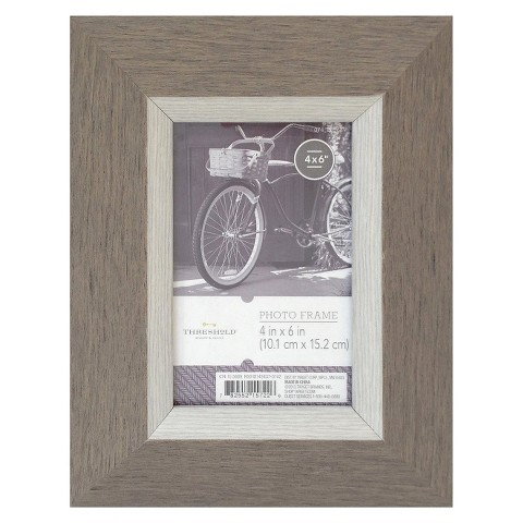 Threshold™ Light Wood Frame - Grey 4X6