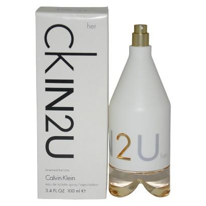Women's CKIN2U by Calvin Klein Eau de Toilette Spray