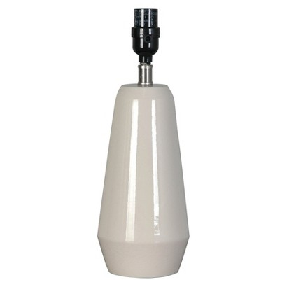 Threshold™ Artisan Ceramic Tall Lamp Base - Shell Small (Includes CFL Bulb)