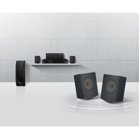 LG Home Theater System and Blu-ray Disc Player with iPad Dock (BH6730S)