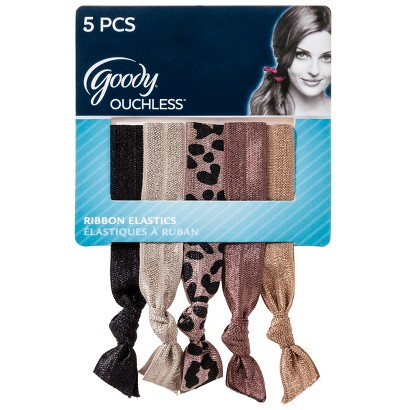 Goody® Ouchless ™ Ribbon Elastics Neutrals - 15 Count