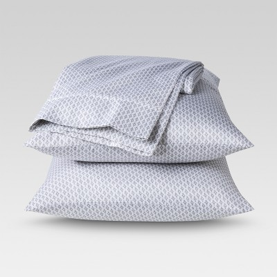 Threshold™ Performance Sheet Set - Gray Ring (King)