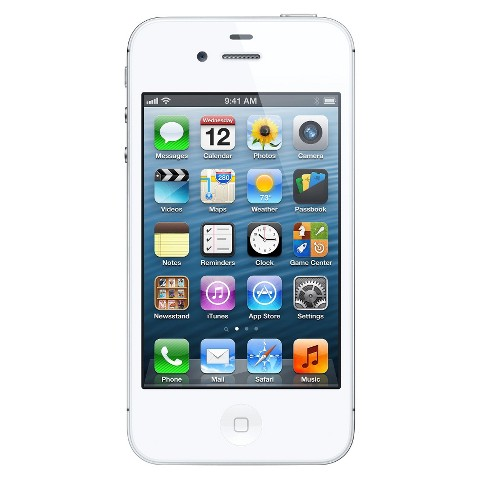 iPhone 4S 16GB White - AT&T with 2-year contract
