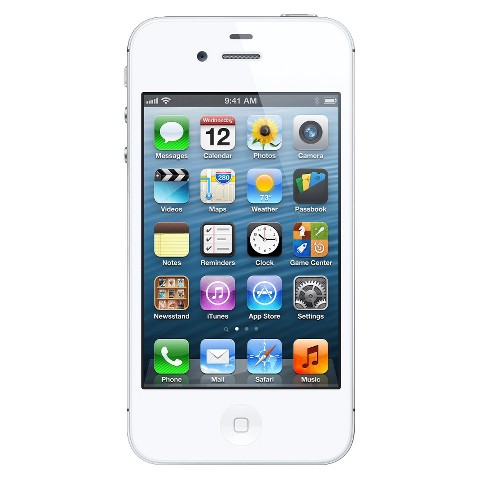 iPhone 4S 16GB White - Verizon with 2-year contract