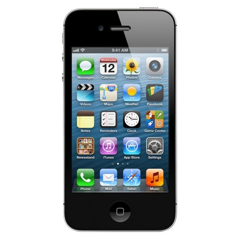 iPhone 4S 16GB Black - Sprint with 2-year contract