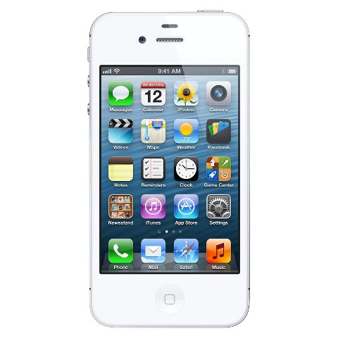 iPhone 4S 16GB White - Sprint with 2-year contract product details ...