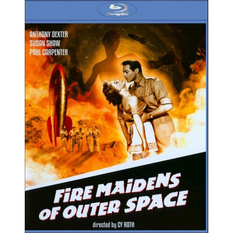 Fire Maidens of Outer Space (Blu-ray) (Widescreen)