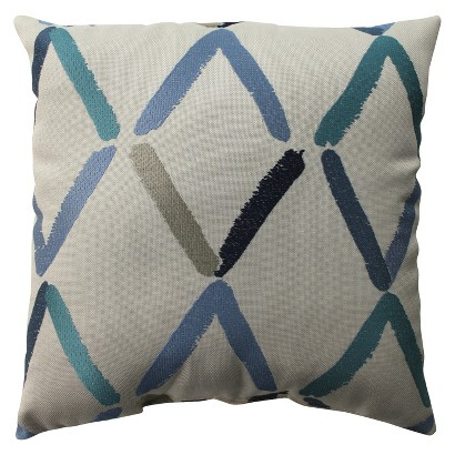 Embroidered Diamond Toss Pillow Collection