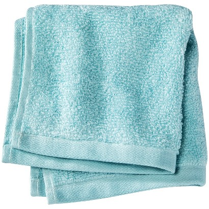 ROOM ESSENTIALS™ FAST DRY WASHCLOTH - SEAFOAM GREEN
