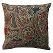 Stitched Paisley Toss Pillow Collection