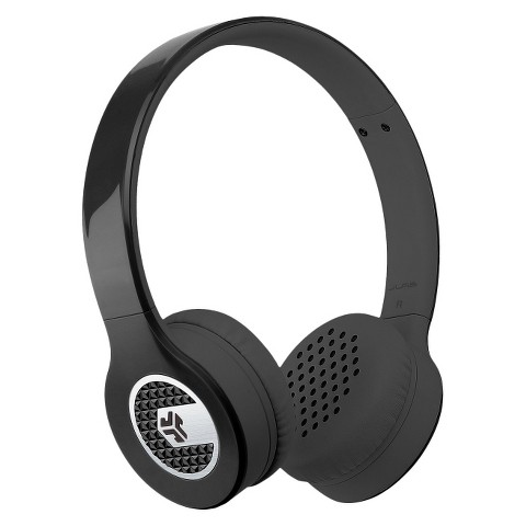 JLab Supra On-Ear Headphones - Black (SUPRABLKBO)