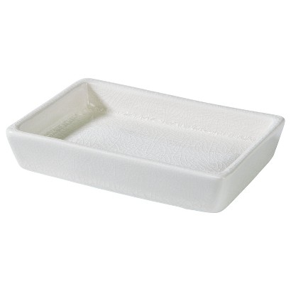 Threshold™ Creme Crackle Soap Dish