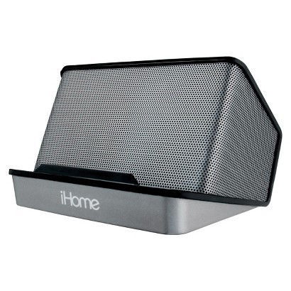 iHome Portable Rechargeable Speaker - Black (iHM27B)