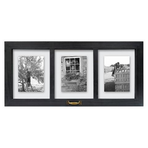 Threshold™ Windowpane Multiple Image Frame 5X7 Black