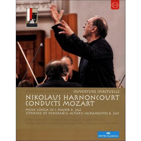 Salzburg Festival 2012: Ouverture Spirituelle - Nikolaus Harnoncourt Conducts Mozart (Blu-ray)
