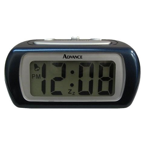 "Geneva LCD Alarm Clock - Blue (0.6"")"