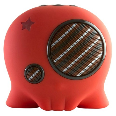 Boombotix Boombot2 Portable Bluetooth Speaker - Red (BB2-RED)