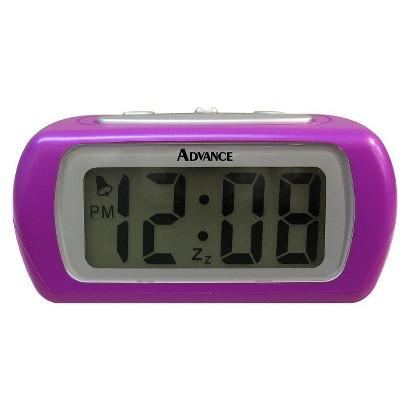 "Geneva LCD Alarm Clock - Purple (0.6"")"