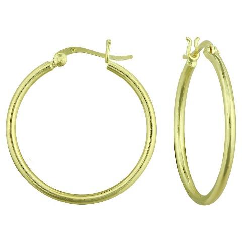Hoop Earrings - Gold (40mm)