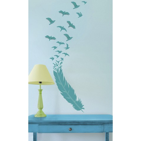 xhilaration birds in flight wall decal product details page