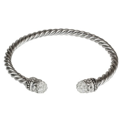 Fireball Crystal 4mm Cable Chain - Clear (6mm)