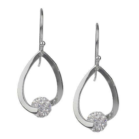 Fireball Dangle Earring - Silver