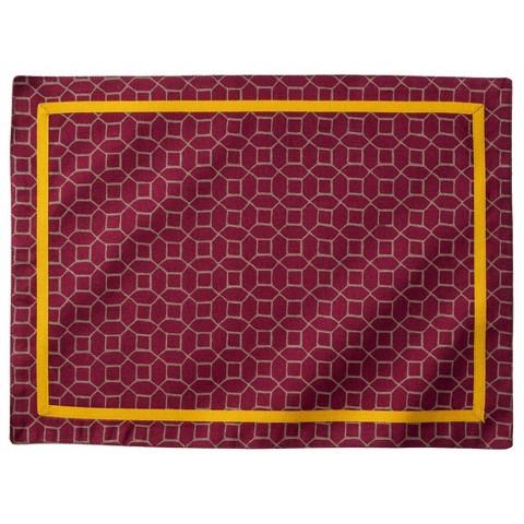 Threshold™ Printed Geo Placemat Set of 4 - Purple