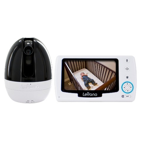 LEVANA® Stella™ 4.3'' PTZ Digital Baby Video Monitor with Talk to Baby™ Intercom