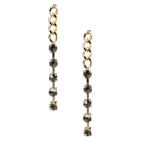 Dangle Earrings - Black