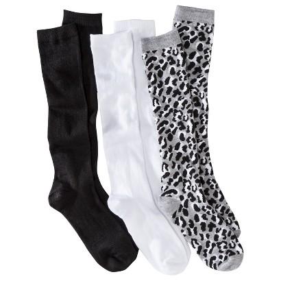 Junior's Knee High Socks 3-Pack