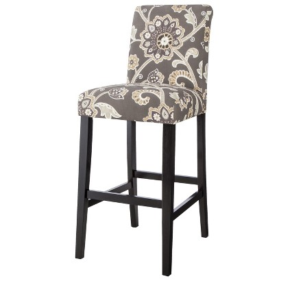 Avington Bar Stool - Ankara Noir