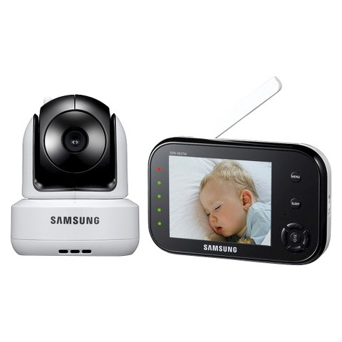 "Samsung 3.5"" SafeVIEW Pan Tilt Zoom Digital Video Baby Monitor"