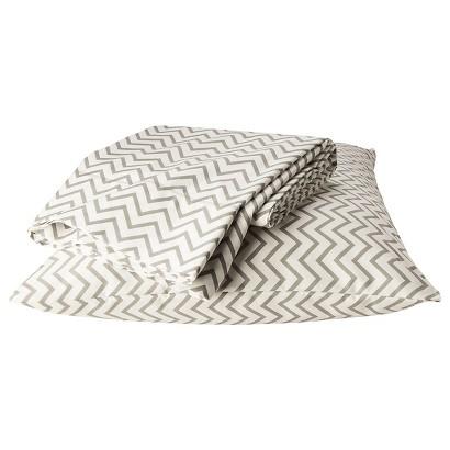 Circo®® Chevron Gray and White Sheet Set
