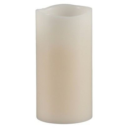 Melted Edge Vanilla Flameless Candle - Assorted Sizes