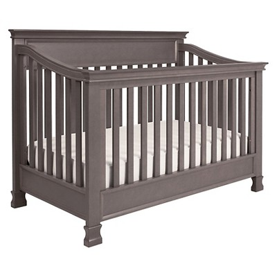 Million Dollar Baby Classic Foothill 4-in-1 Convertible Crib with Toddler Rail - Weathered Grey